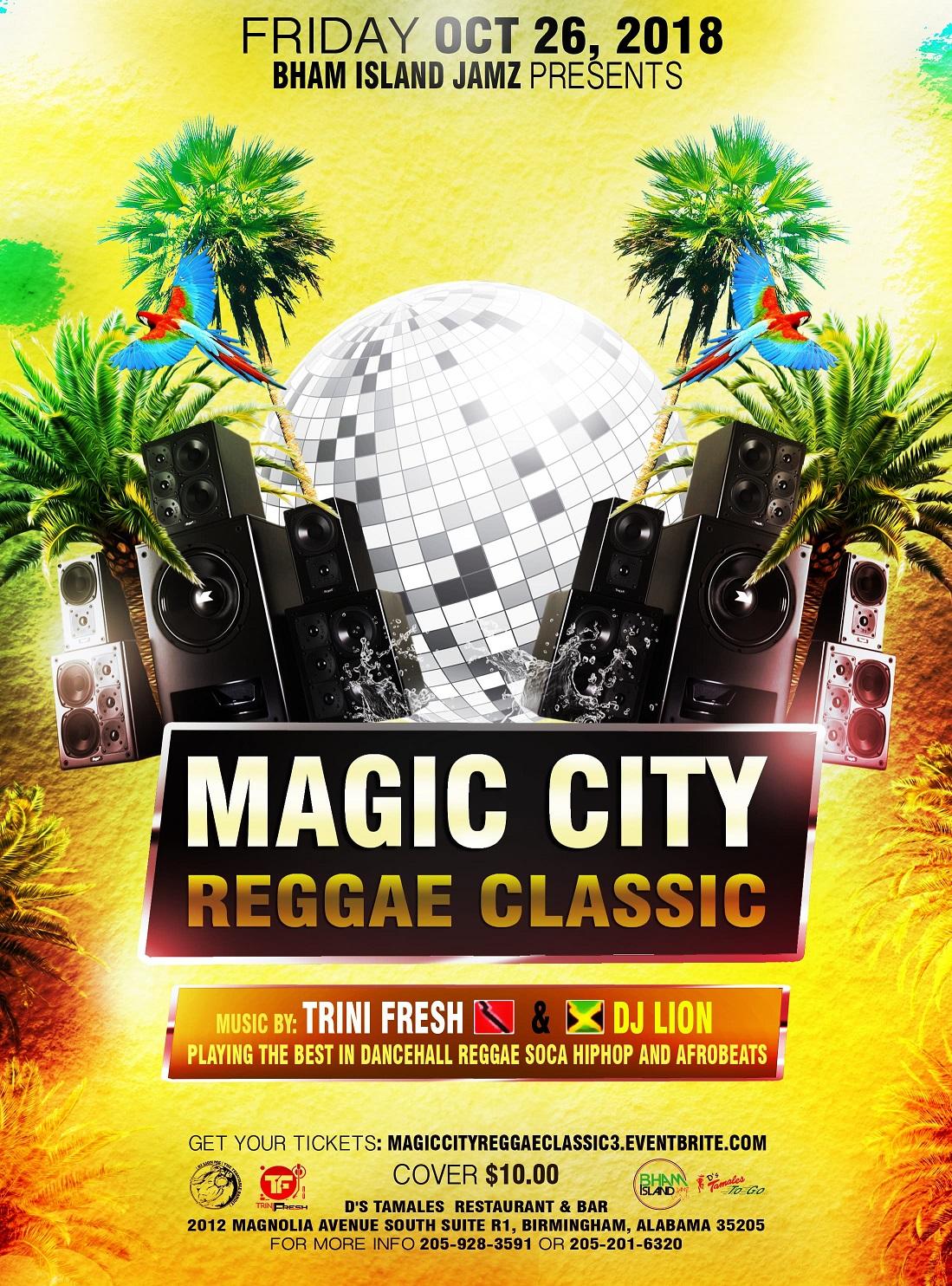 Magic City Reggae Classic presented by Birmingham Caribbean