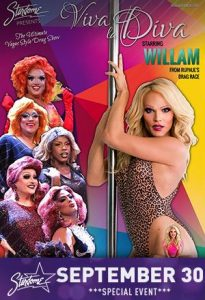 Viva La Diva featuring Willam from RuPaul's Drag Race