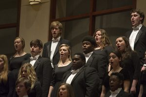 UAB Music Fall Choral Collage