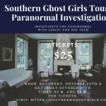 Southern Ghost Girls Tours and Paranormal Investigations