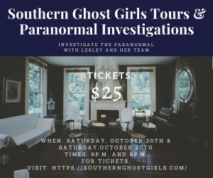 Southern Ghost Girls Tours and Paranormal Investig...