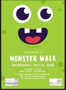 Columbiana Monster Walk