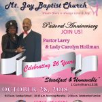 26th Pastoral Anniversary