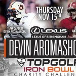 Lexus of Birmingham Top Golf Iron Bowl Charity Challenge