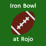 Iron Bowl at Rojo