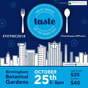 Taste of the Magic City benefiting M-POWER Ministries