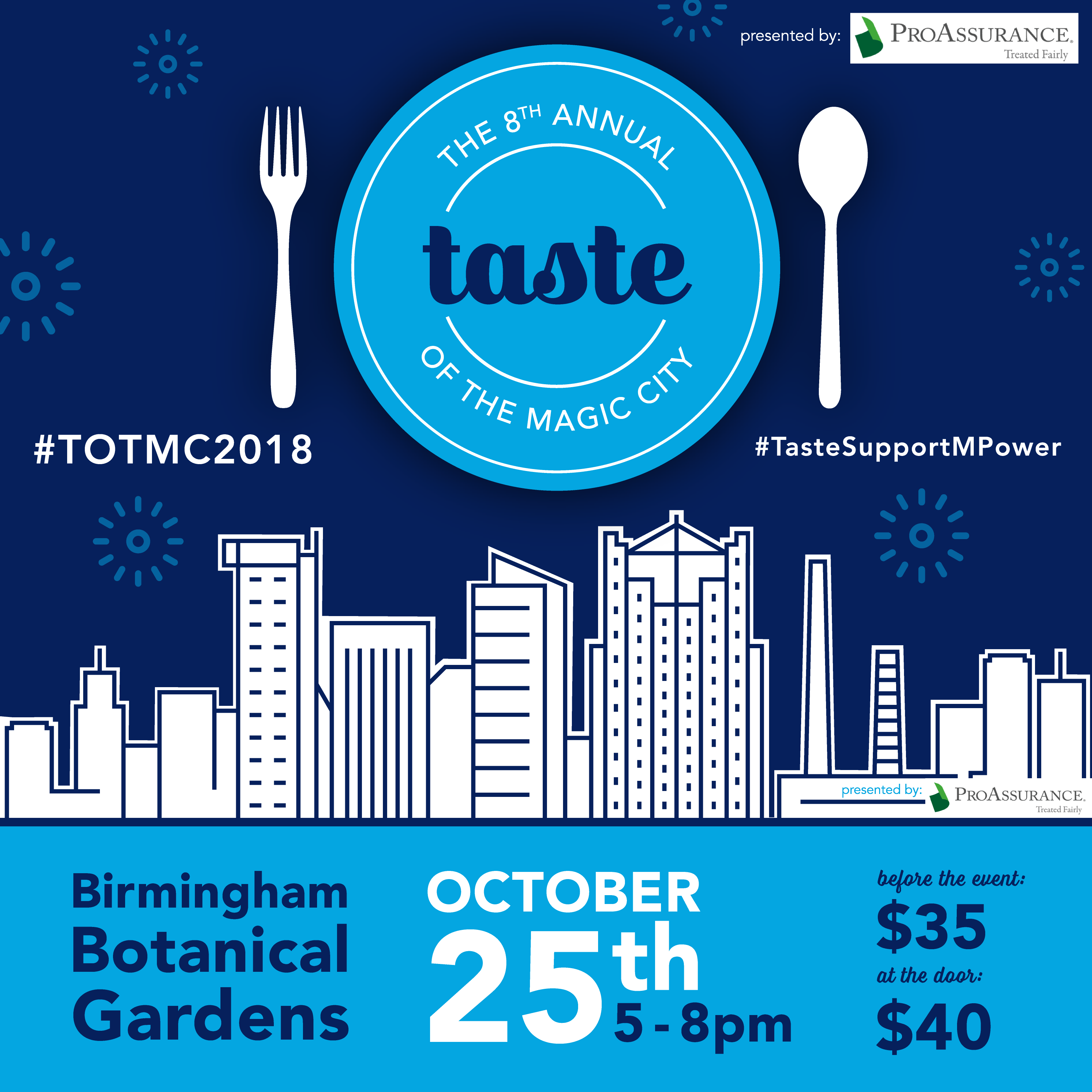 Taste of the Magic City benefiting M-POWER Ministries presented by M ...