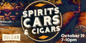 Spirits Cars and Cigars