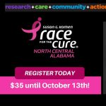 2018 Komen North Central Alabama Race for the Cure®