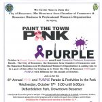 6th Annual Pink & Purple Parade & Festivities