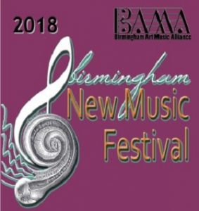 2018 Birmingham New Music Festival (BNMF)