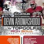 Iron Bowl TopGolf Celebrity Charity Challenge