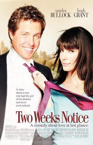 Monday at the Movies: Two Weeks Notice