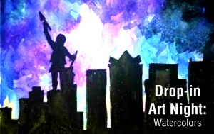 Drop-in Art Night: Watercolors