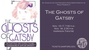 Dr. Chandler and Jane Paris Smith Opera Series presents The Ghosts of Gatsby