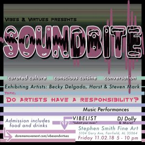 Vibes and Virtues presents SOUNDBITE
