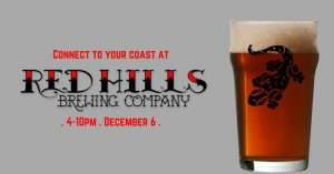 Connect to Your Coast at Red Hills Brewing Company...