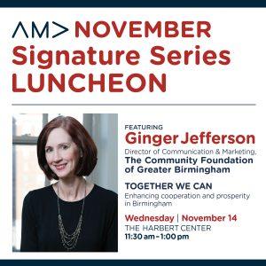AMA Birmingham November Signature Series Luncheon