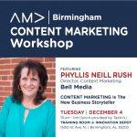 AMA Birmingham Content Marketing Workshop