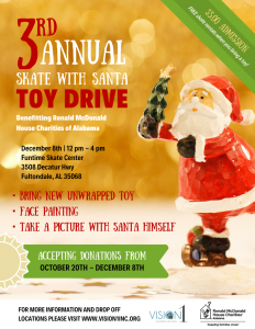 3rd Annual Skate with Santa Toy Drive