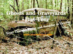 The Birmingham Ghost Walk Ghosts & Graveyards Bus Tour