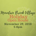 Mountain Brook Village Holiday Open House