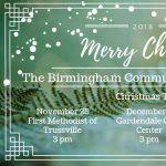Birmingham Community Concert Band Christmas Concert