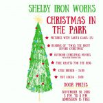 Shelby Iron Works Christmas in the Park