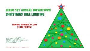 Leeds Downtown Christmas Tree Lighting