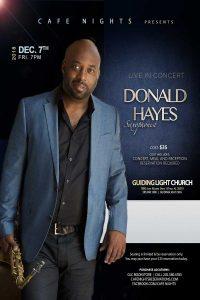 Café Nights Presents Donald Hayes Live