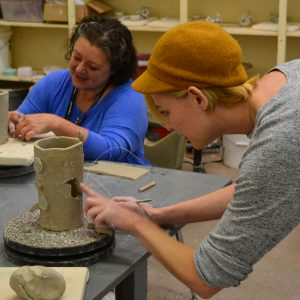 Art in the Making: Clay Workshop with Carolyn Wass...