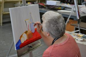 Art in the Making: Intro to Painting with Jurgen Tarrasch, for Adults Ages 55 and Better!