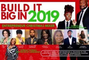 Build it Big in 2019 Entrepreneur Christmas Mixer