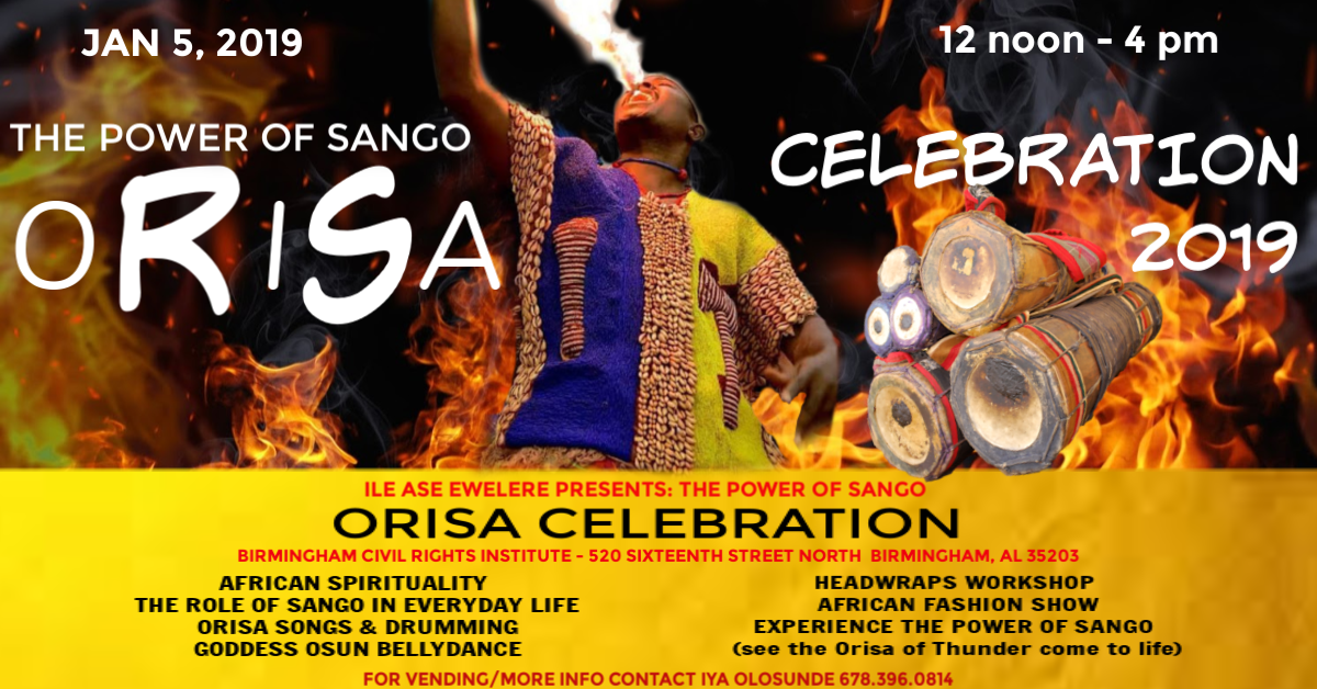 Orisa Celbration 2019 The Of Sango