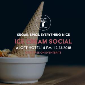 Sugar, Spice and Everything Nice: An NJC Gourmet Ice Cream Social