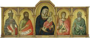 Slow Art Sunday: Madonna and Christ Child with Saint John the Baptist, Saint Michael and an Unidenti