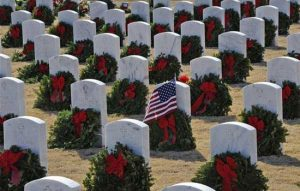 Wreaths Across America Wreath Laying Ceremony
