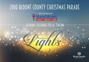 Parade of Lights: The 2018 Blount County Christmas Parade