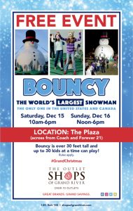 Bouncy - The World's Largest Snowman!
