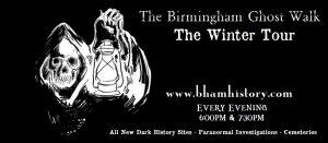The Birmingham Ghost Walk - The Winter Tour