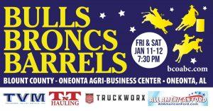 Bulls, Broncs and Barrels