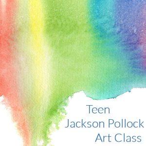 Teen Jackson Pollock Art Class