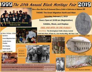 The 20th Annual Black Heritage Fair (1999-2019)