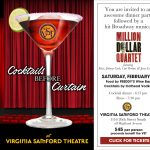 Cocktails Before Curtain for Million Dollar Quartet at VST