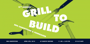 Grill To Build BBQ Competition and Festival