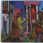 Slow Art Sunday: untitled painting by Romare Bearden