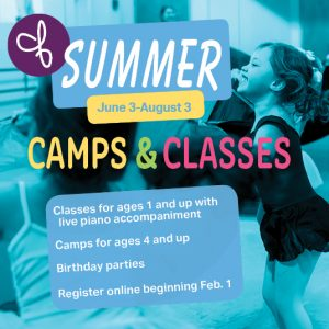Dance Explorations full day camp for 3rd - 6th gra...