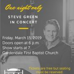 Steve Green in Concert