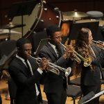United States Naval Academy Brass Quintet in concert,