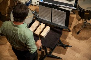 Iron Giant Percussion Ensemble in concert